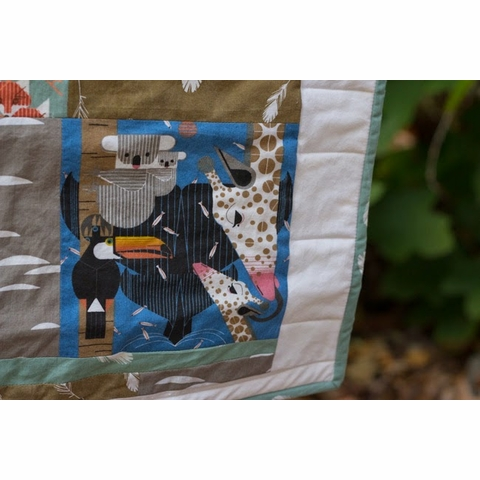 Sewing Tutorial & Free Pattern|Nurture Quilt by Plum and June