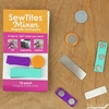 SewTites, Magnetic Sewing Pins, Mixer 15-pack