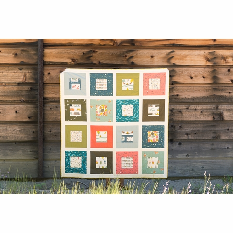 Squared Quilt Kit Featuring Camp Sur 3