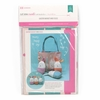 Stacy Iest Hsu for Moda, Cut Sew Create, Easter Basket and Eggs Project Panel