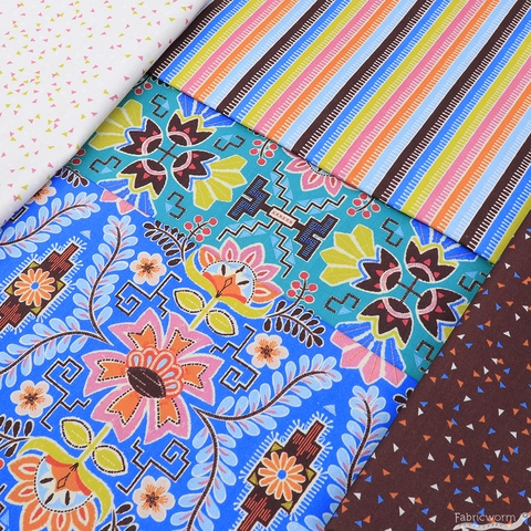 Stacy Peterson for Blend, Fiesta in FAT QUARTERS 10 Total