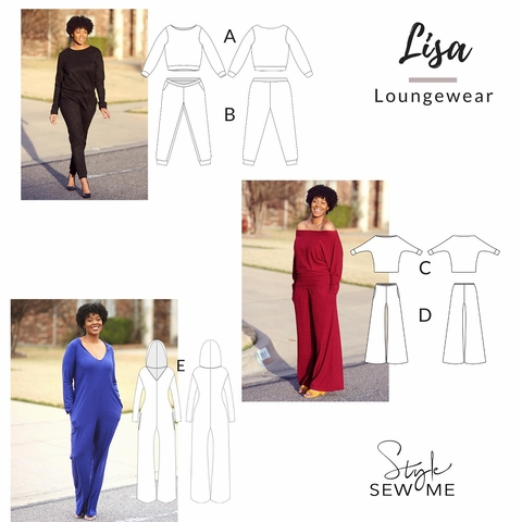 Style Sew Me, Sewing Pattern, Lisa Lougewear