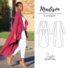 Style Sew Me, Sewing Pattern, Madison Cardigan