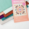 Suncake Quilt Kit Featuring Birch Organic Mod Basics Solids (PRECUT)