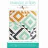 Suzy Quilts, Sewing Pattern, Triangle Jitters Quilt
