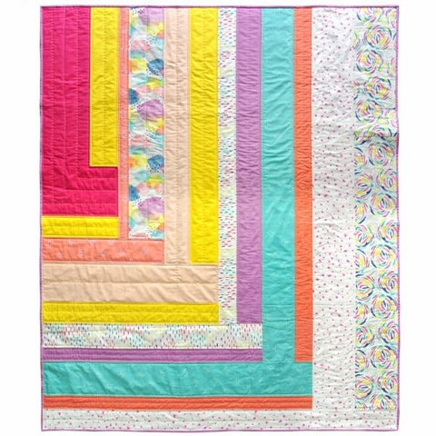 Suzy Quilts, Sewing Pattern, Weekend Candy Quilt