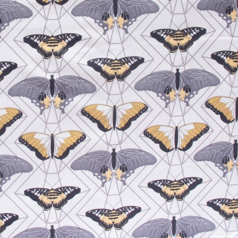 Sweetfire Road for Moda, Through the Woods, Butterfly Prisms Ivory