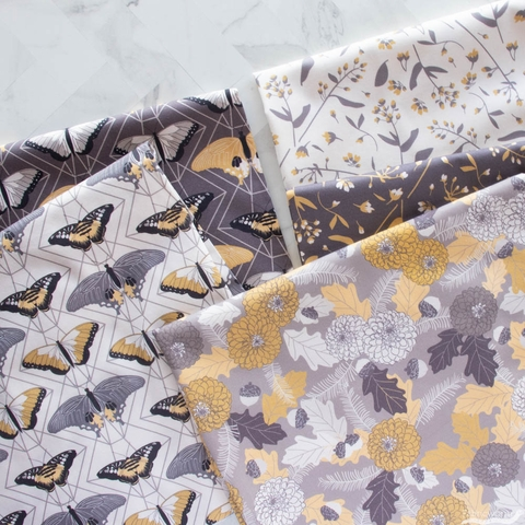 Sweetfire Road for Moda, Through the Woods Precut FAT QUARTERS 10 Total