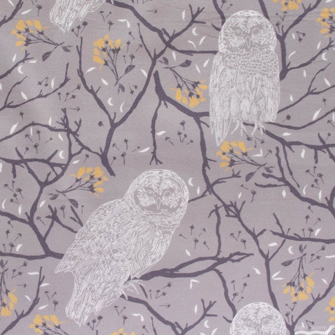 Sweetfire Road for Moda, Through the Woods, Woodland Owls Flint