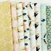 Teresa Chan for Camelot Fabrics, Mystic Cranes, Daylight in FAT QUARTERS 8 Total