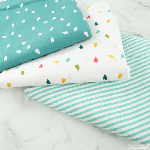 Tessie Fay for Windham, Cora, Scattered Petals Teal