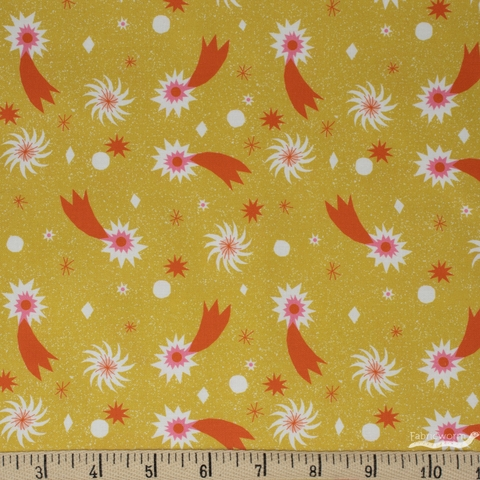 The Printed Peanut for FIGO, Wintertide, Fireworks Yellow