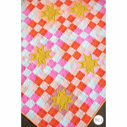 Then Came June, Sewing Pattern, Campfire Glow Quilt