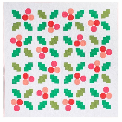 Then Came June, Sewing Pattern, Holly Jolly Quilt