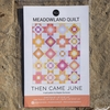 Then Came June, Sewing Pattern, Meadowland Quilt