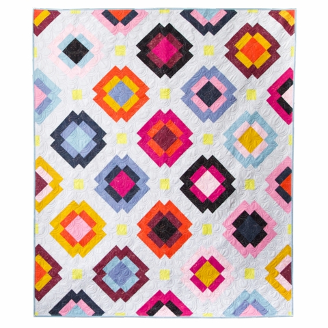 Then Came June, Sewing Pattern, Radiate Quilt