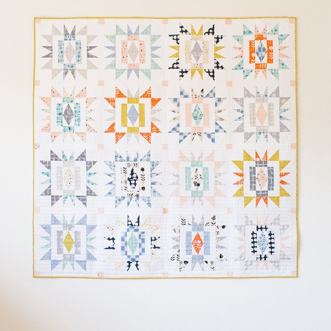 Then Came June, Sewing Pattern, Sienna Burst Quilt