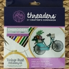 Threaders by Crafter's Campanion, Embroidery Kit, Vintage Trail