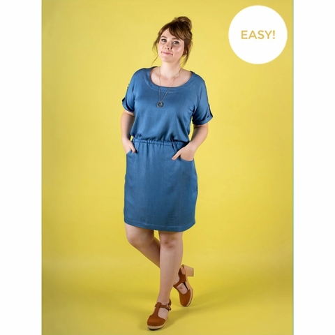 Tilly and the Buttons, Sewing Pattern, Bettine Dress