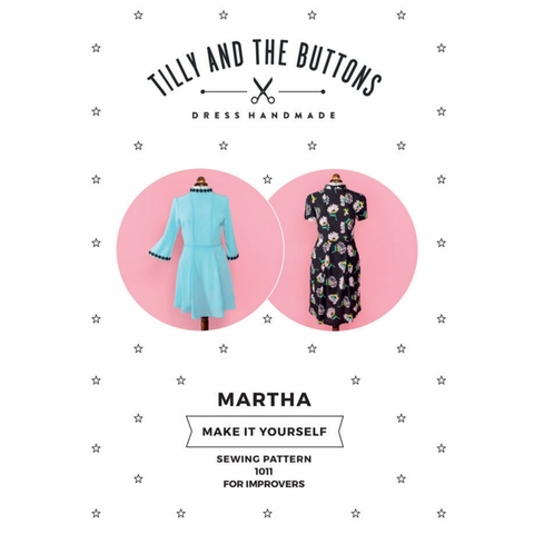 Tilly and the Buttons, Sewing Pattern, Martha