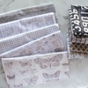 Tim Holtz for Free Spirit, Monochrome, Model Airplanes Charcoal