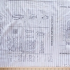 """Tim Holtz for Free Spirit, Monochrome, Sewing Instructions Linen (36"""" Panel)"""