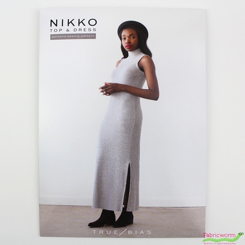 True Bias, Sewing Pattern, Nikko Top & Dress