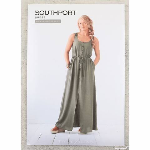 True Bias, Sewing Pattern, Southport Dress