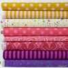 Tula Pink for Free Spirit, All Stars, Marigold in FAT QUARTERS 8 Total