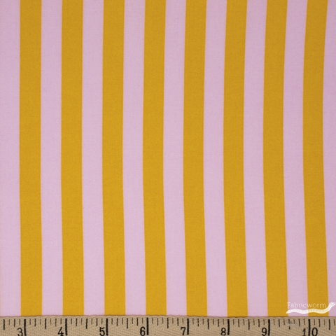 Tula Pink for Free Spirit, All Stars, Tent Stripe Marigold