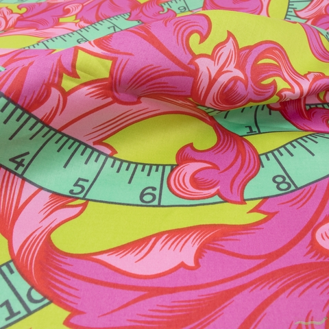 Tula Pink for Free Spirit, HomeMade Wide Width, Measure Twice Morning