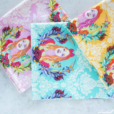 Tula Pink for Free Spirit, Curiouser & Curiouser, Alice Daydream