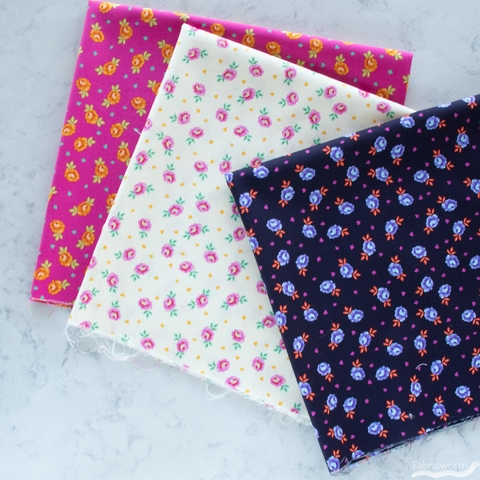 Tula Pink for Free Spirit, Curiouser & Curiouser, Baby Buds Daydream