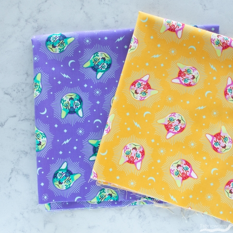 Tula Pink for Free Spirit, Curiouser & Curiouser, Cheshire Daydream