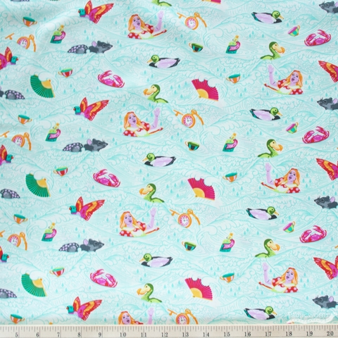 Tula Pink for Free Spirit, Curiouser & Curiouser, Sea Of Tears Wonder