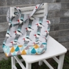 Sewing Tutorial & Free Pattern|Charley Harper Quick Sew Tote by Christina McKinney