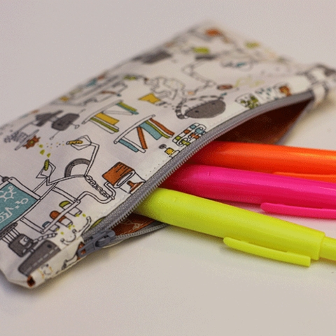 Sewing Tutorial|Quick Sew Pencil Pouch by Christina McKinney