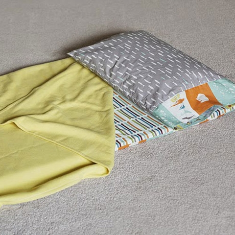 Sewing Tutorial & Free Pattern|Sleepy Head Nap Mat by Christina McKinney
