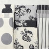 Urban Chiks for Moda, Urban Cottage, Spots Ivory Gray