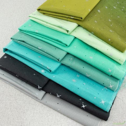 V and Co. for Moda Fabrics, Ombre Fairy Dust, Refreshing Bundle 7 Total