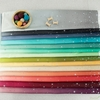 V and Co. for Moda Fabrics, Ombre Fairy Dust, Turquoise