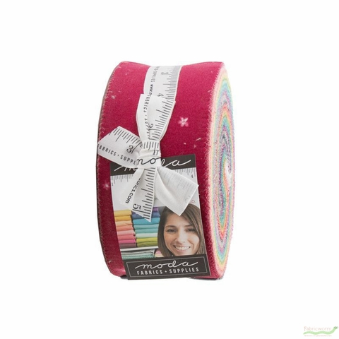 V and Co. for Moda, Ombre Bloom PRECUT, Double Border Jelly Roll
