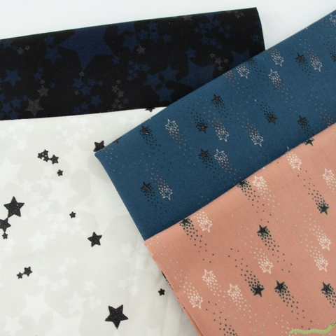 Vanessa Lillrose & Linda Fitch for Robert Kaufman, Moonlight Sparkle Bundle 12 Total
