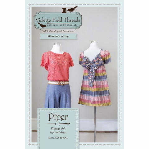 Violette Field Threads, Sewing Pattern, Piper (Misses)
