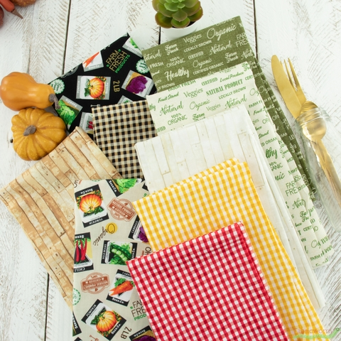 Whistler Studios for Windham, Certified Delicious, Seed Packets Black