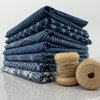 Whistler Studios for Windham, Sashiko, Waves Denim