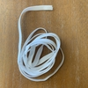 "10 Yards of White Elastic 1/4"" For Sewing"