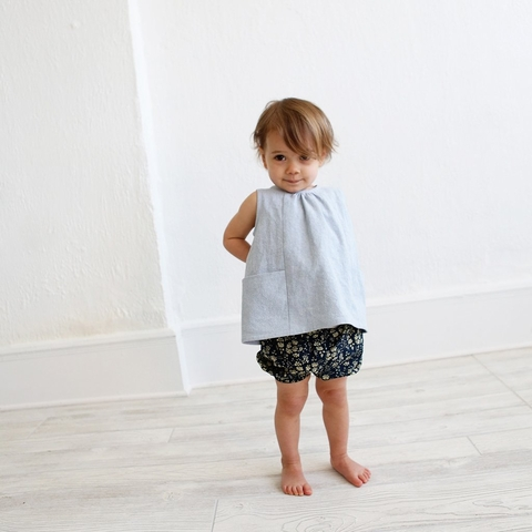 Wiksten, Sewing Pattern, Baby & Toddler Bloomers + Pants
