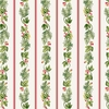 Winter Rose by Andover, Garland Stripe Cream