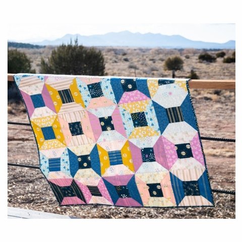 Wise Craft Handmade, Sewing Pattern, Portal Quilt